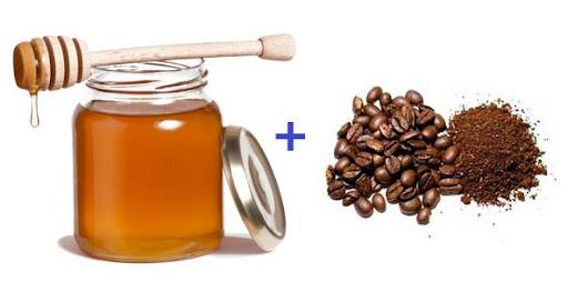 Мед и кофе фото