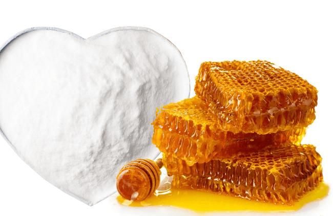 Золотой мед и сода фото
