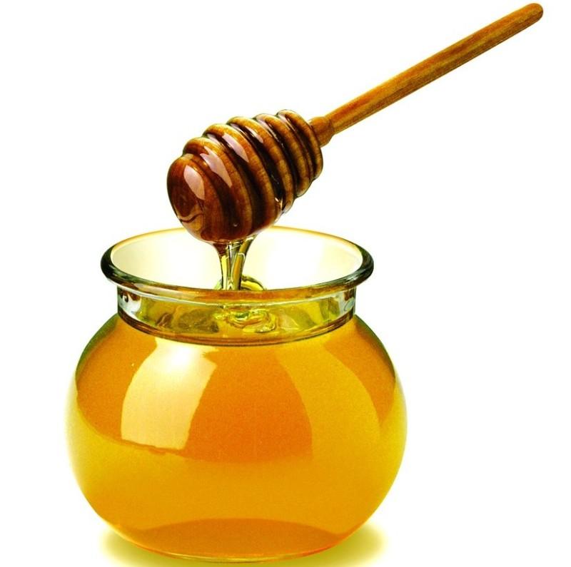 Мед в баночке фото