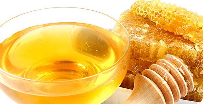 Жидкий мед в блюдце фото