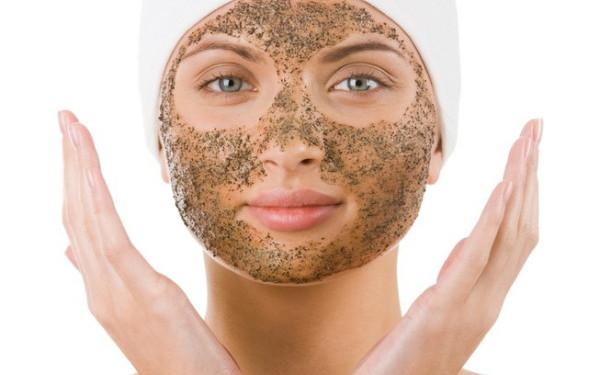 Кофейная маска на лице фото
