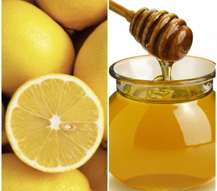 Сочетание лимона и меда фото