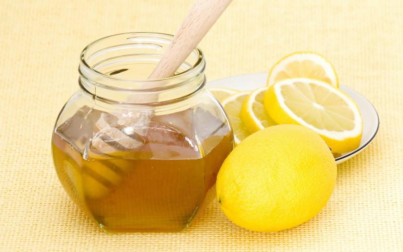 Лимон и мед для маски фото