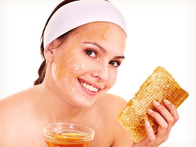 Мед для скраба фото