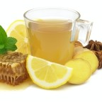 Чай из меда, имбиря и лимона фото
