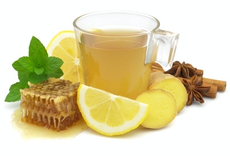 Мед, имбирь и лимон для улучшения вашего иммунитета