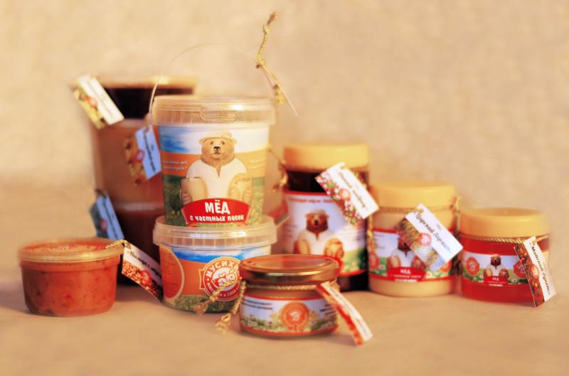 Фото медовых продуктов в баночках