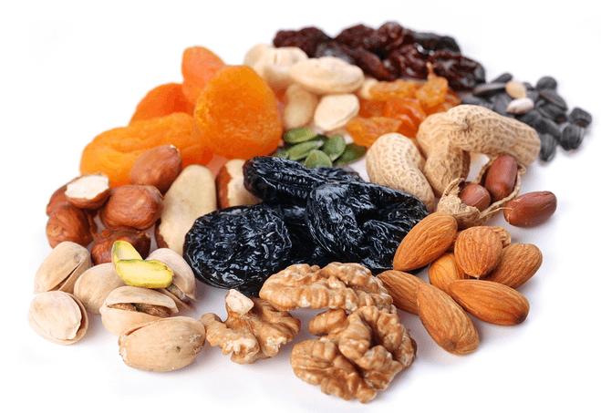 Фото высушеных витаминных продуктов