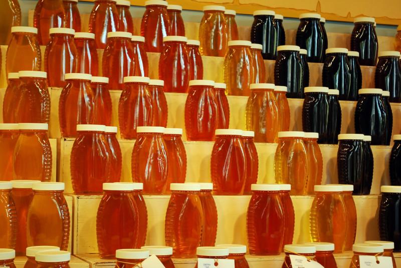 Баночки с жидким медом фото