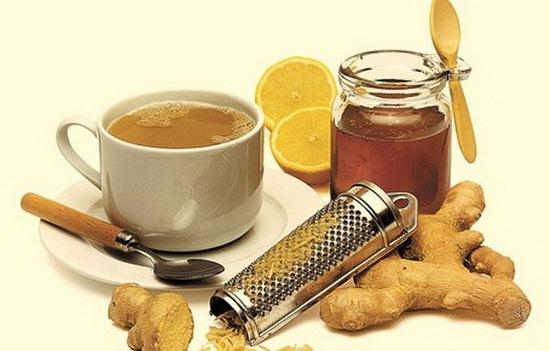 Фото имбиря, лимона и меда для рецепта