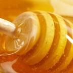 Фото жидкого меда на ложечке