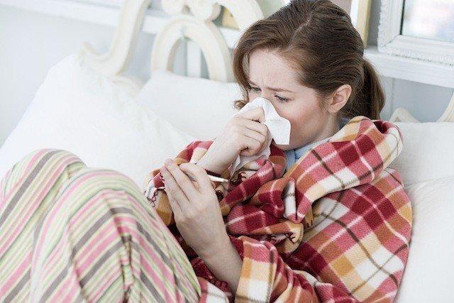 Приболевшая женщина фото