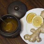 Фото имбиря, лимона и меда
