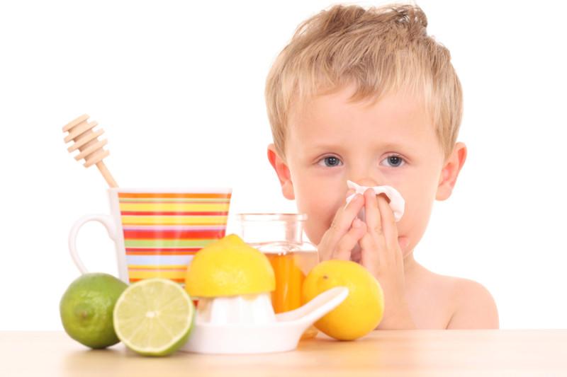 Фото приболевшего мальчика