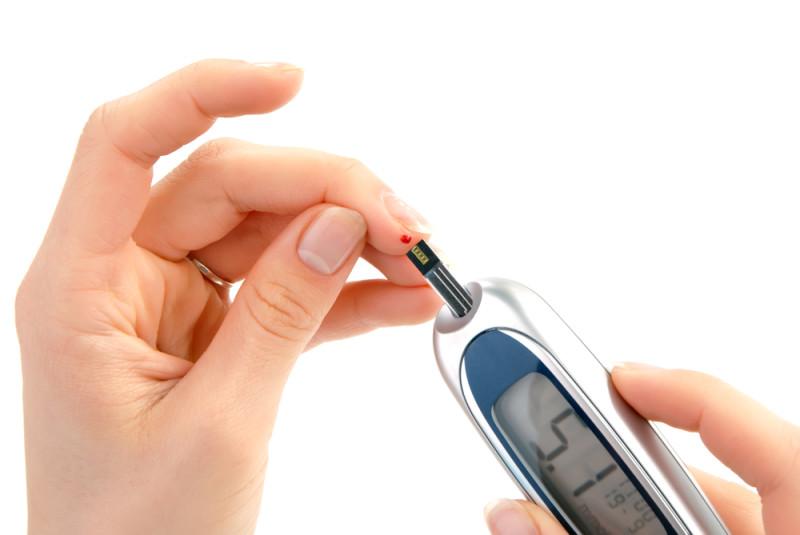 Фото проверки уровня сахара
