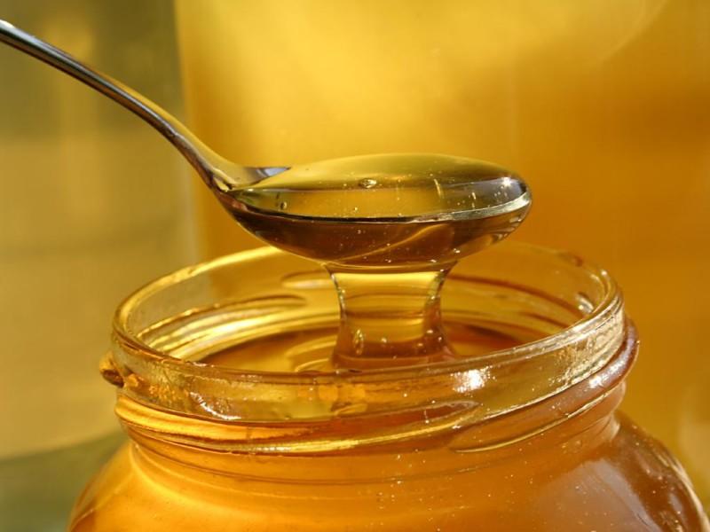 Фото банки и ложки с медом