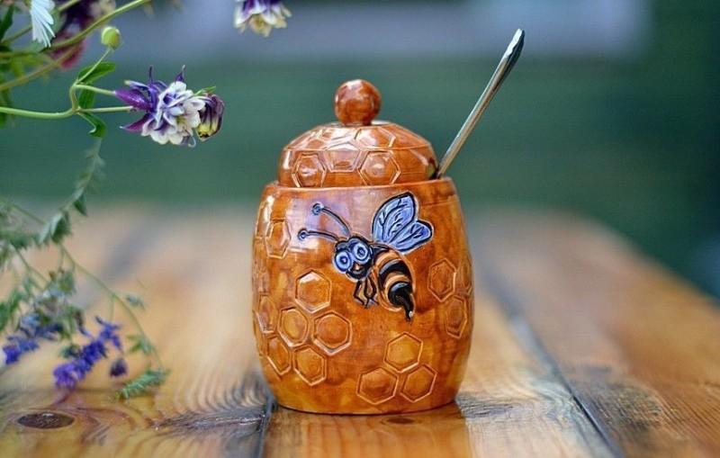 Фото боченка с медом