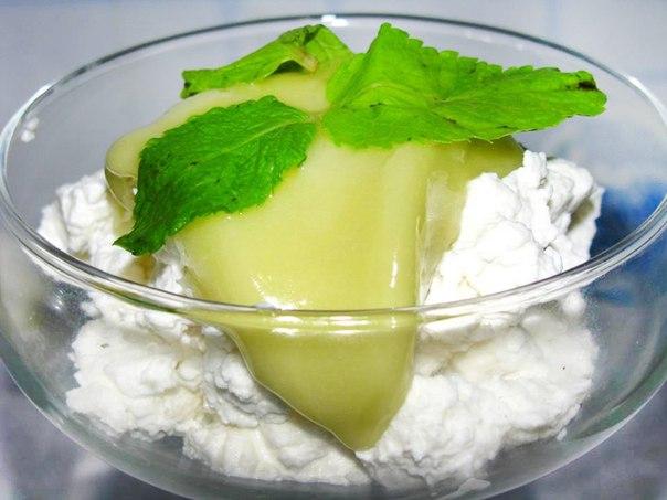 Фото десерта с хлопковым медом