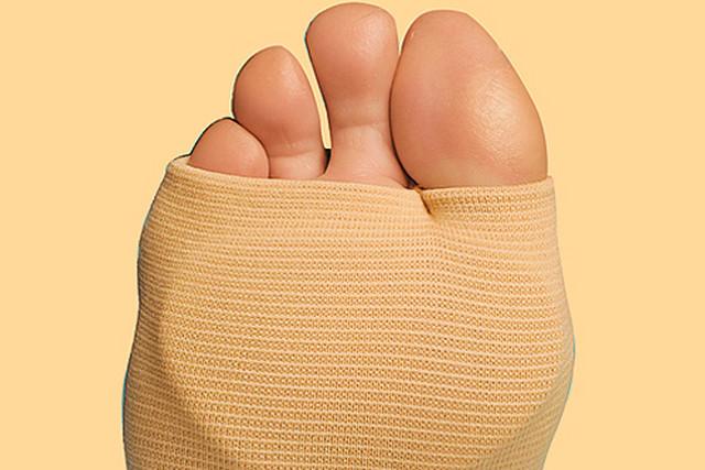 Фото компресса на ноге
