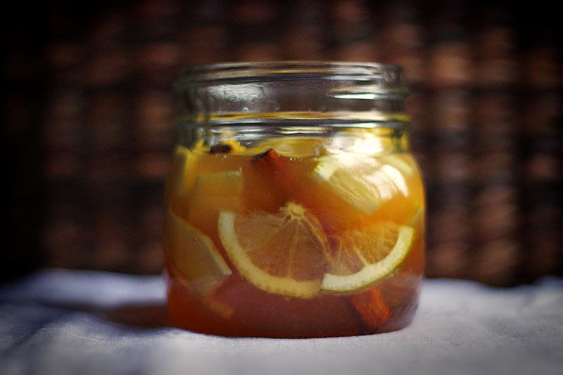Фото лимона в меду
