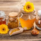 Фото меда натурального с пыльцой