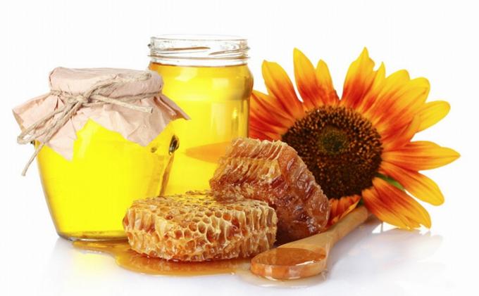 Красивый и вкусный мед из подсолнуха