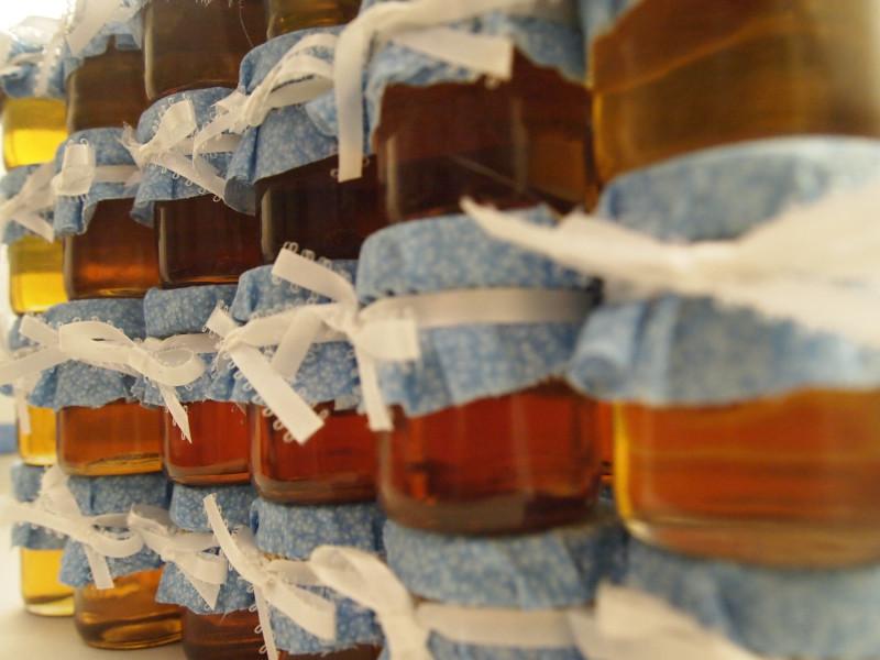 Фото расфасованнной медовой смеси
