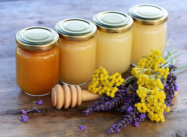 Фото разных сортов меда