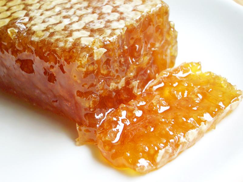 Фото пчелиных сот