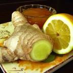 Фото лимона, имбиря и меда