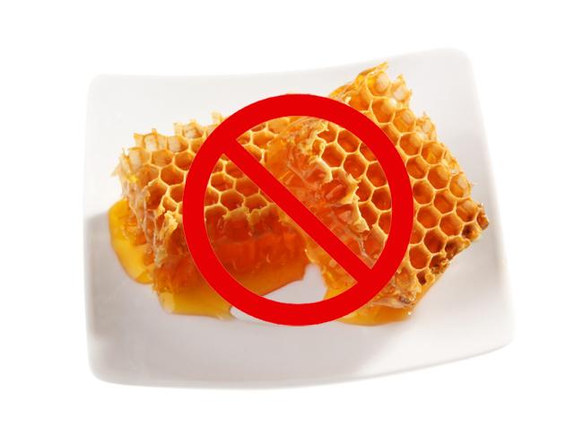 Фото запрещенного медового продукта