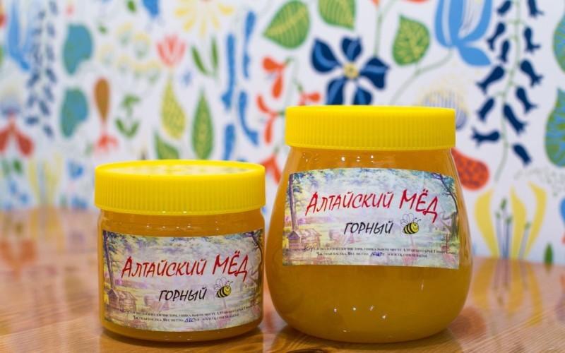 Фото банок с алтайским медом