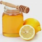 Фото лимона и меда в баночке