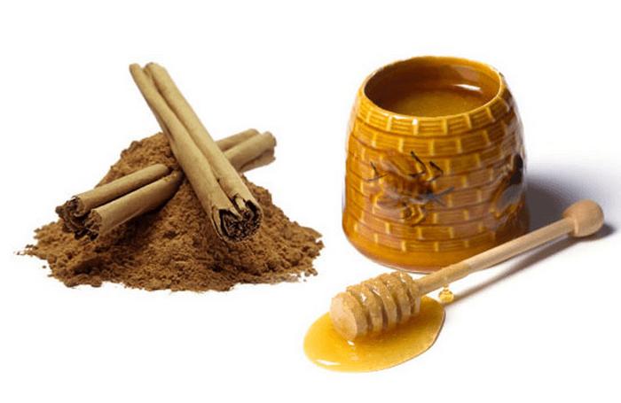 Фото меда и корицы