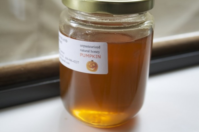 Фото баночки тыквенного меда