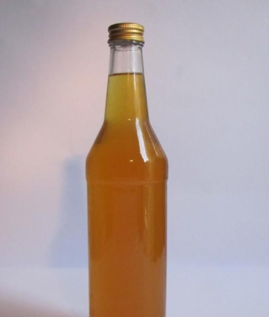 Бутылка медовухи с пергой