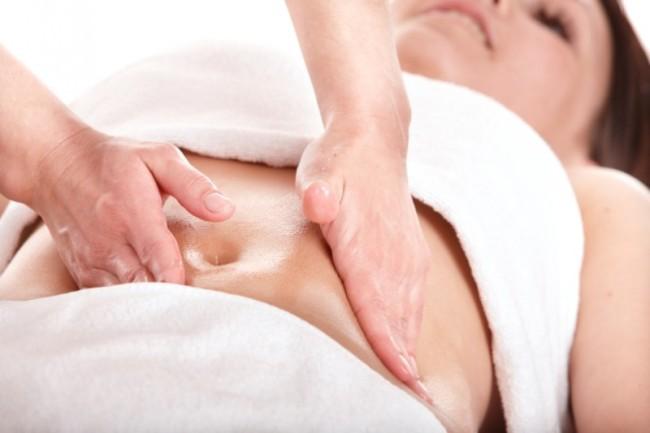 Медовый массаж живота от профессионала