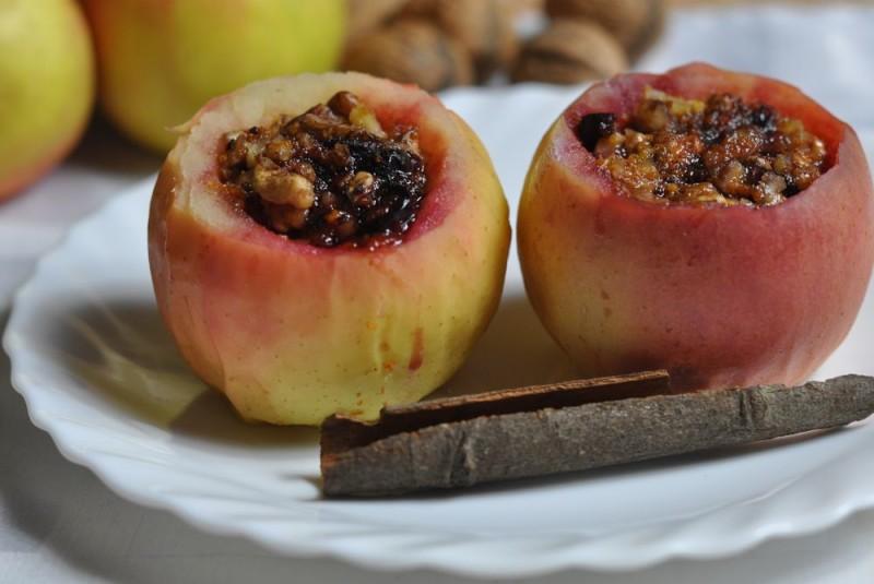 Малиново-яблочная венская запеканка