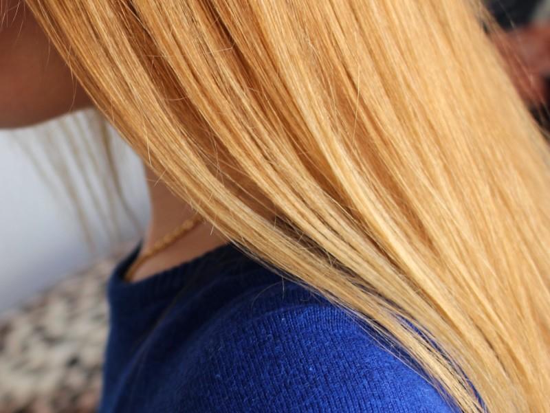 Здоровые волосы после маски