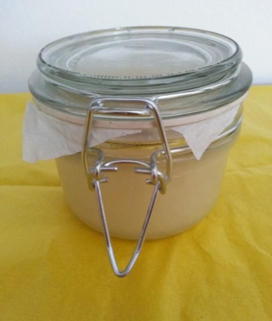 Самодельный маточный мёд в банке