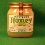 Банка с рапсовым мёдом
