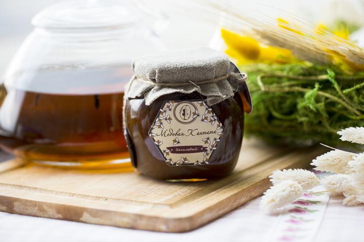Мед дягилевый в баночке