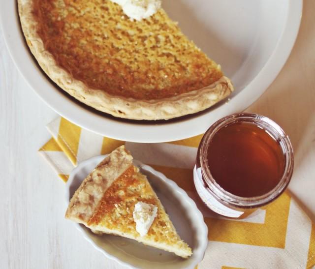 Медовый пирог со сметаной