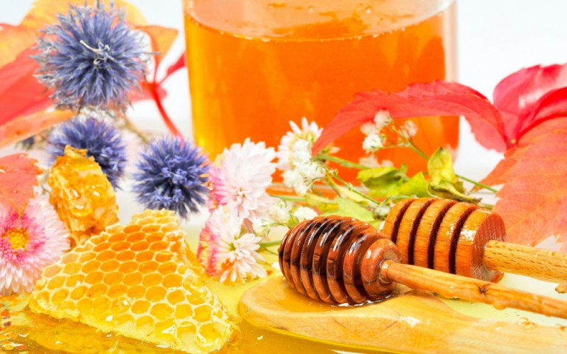 Полезный цветочный мёд