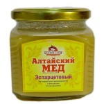 Баночка алтайского продукта из эспарцета