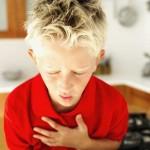 Припадок анафилактического шока у ребенка