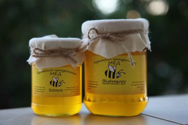 Две баночки пчелиного нектара