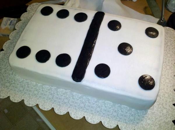 Готовый торт «Домино»