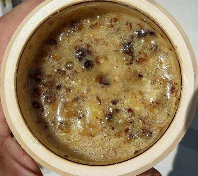 Бортевой мед в глиняном горшочке