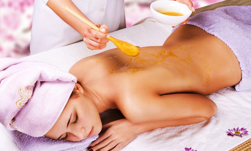 Медовый массаж со специалистом
